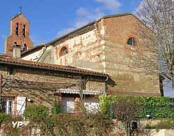 Eglise et fort (G. Durand)