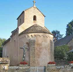 Église Saint-Nizier (Mairie de Burnand)