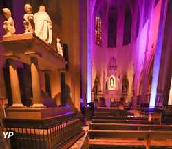 Basilique Notre-Dame-de-Cléry (Lumières sur  Notre Dame de Cléry)