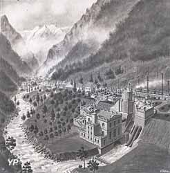 Centrale hydroélectrique des Vernes (G. Peltier©Musée de la Romanche)