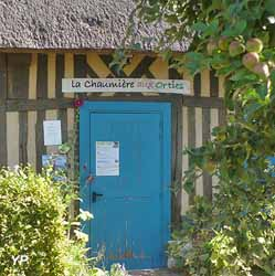 Chaumière aux Orties, Jardin des herbes sauvages (Roumois, terres vivantes en Normandie)