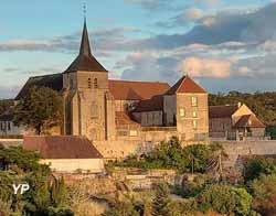 Prieuré Saint-Benoît - église abbatiale (C. Gerbaud)