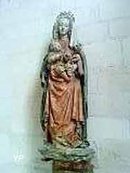 Vierge aux raisins