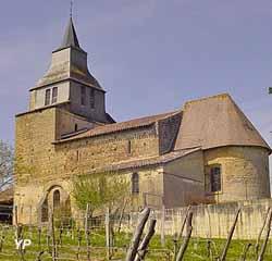 Église Saint-Cesaire (Mairie de Pouydraguin)