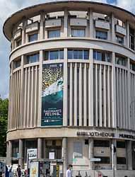 Bibliothèque d'Étude et du Patrimoine (Sylvain Frappat, Ville de Grenoble)
