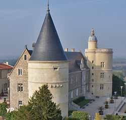 Château de Bouthéon (ville d'Andrézieux-Bouthéon)