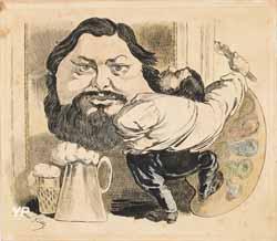 Ferme Courbet à Flagey (Musée Courbet/Photo : Pierre Guenat)