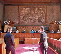 Salle des assises (Cour d'Appel de Dijon)