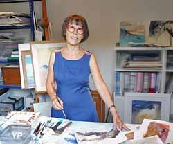 exposition d'aquarelles de Claudie Capdeville