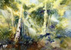 Forêt habitée