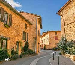 Village d'Oingt (Office de tourisme Beaujolais des Pierres Dorées)
