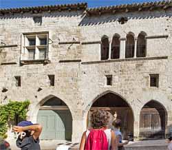 Cité médiévale (OT Lauzerte - les Yeux d'Olivier)