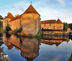 Château de Lacour d'Arcenay (S. de Courtivon)
