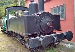 Locomotive à vapeur Schneider (P.  Barthet)
