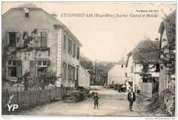 Rue de l'École maternelle (Mairie d'Étueffont)