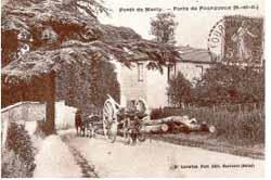 Parvis de l'Espace Delanoë (Fourqueux patrimoine)