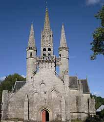 Le Faouët, chapelle Saint-Fiacre