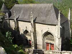 Le Faouët, chapelle Sainte-Barbe
