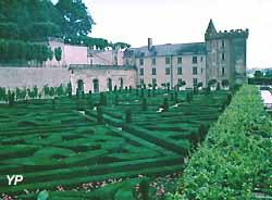 jardins à la française du château de Villandry (doc. Yalta Production)