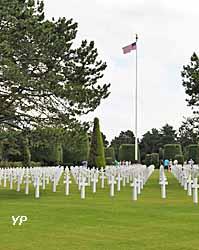 cimetière américain d'Omaha Beach (doc. Yalta Production)