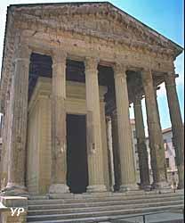 Vienne, temple d'Auguste et Livie