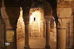 crypte de l'église Notre-Dame de l'Assomption
