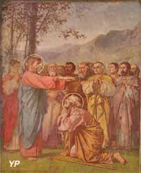 La collation des pouvoirs de lier et délier à saint Pierre