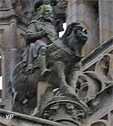 Statue équestre du roi Gradlon