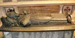 Tombeau de monseigneur Duparc, évêque de Quimper