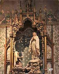 Chapelle de dévotion à Notre-Dame de Lourdes