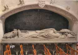 Tombeau de Monseigneur de Ploeuc, évêque de Quimper 1709-1739